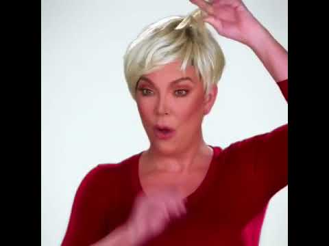 Kris Jenner Channels Miranda Priestley from 'Devil Wears Prada' in Bleach Blonde Wig: Slaylebrity K