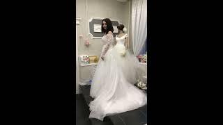 Свадебное платье LB 13211 и болеро LB 15237