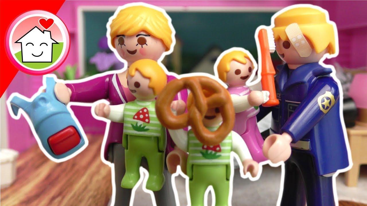 Playmobil Film deutsch - Morgenroutine Familie Overbeck - Familie Hauser  Spielzeug Kinderfilm