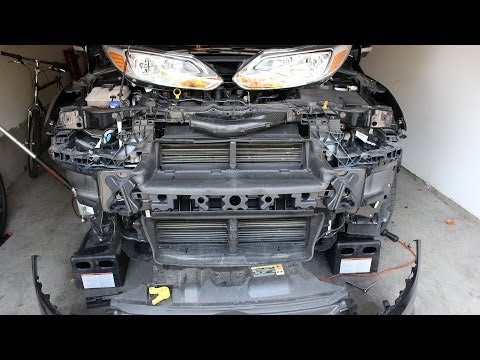 Ford Focus Third Gen - Front Bumper Removal How To Guide Mk3 (2011 - present)