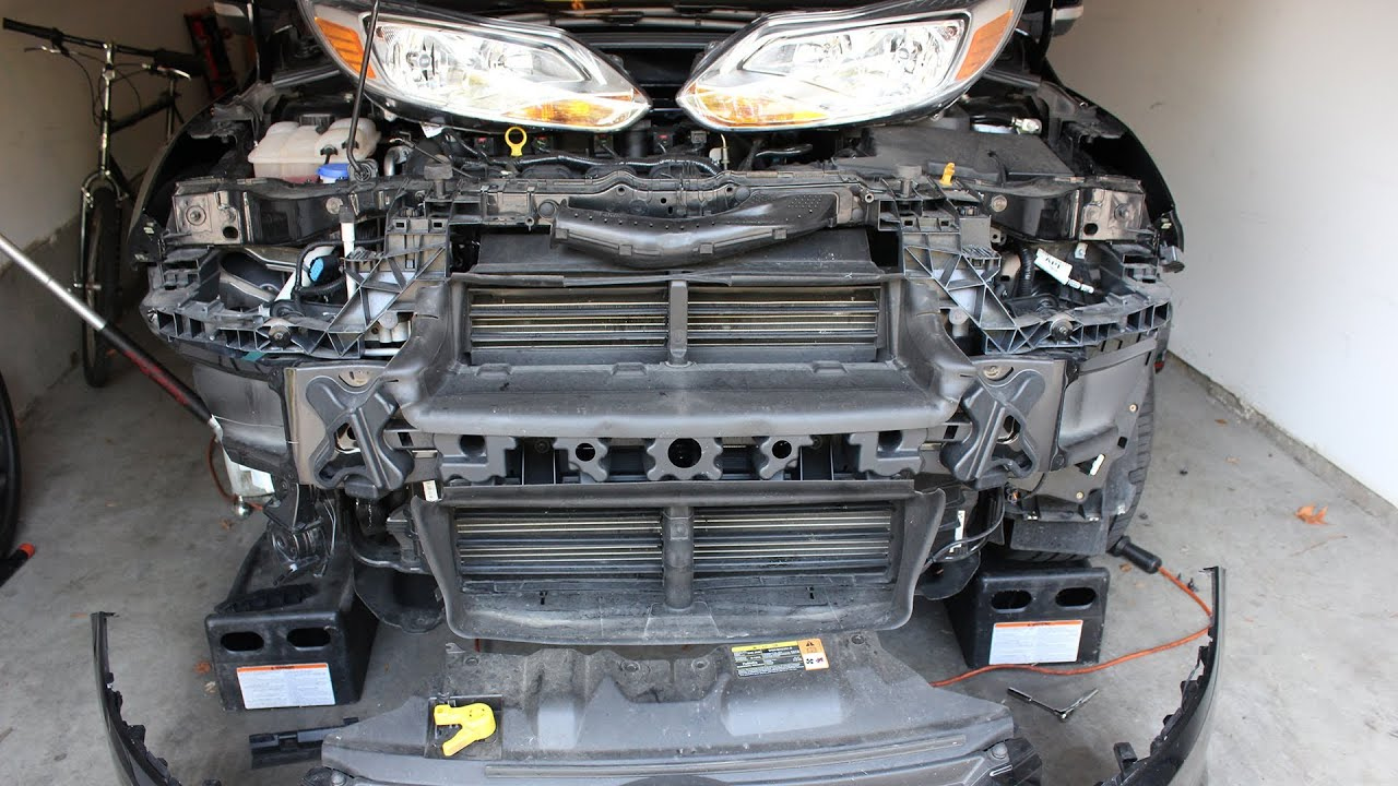ford focus  gen front bumper removal   guide mk  present youtube