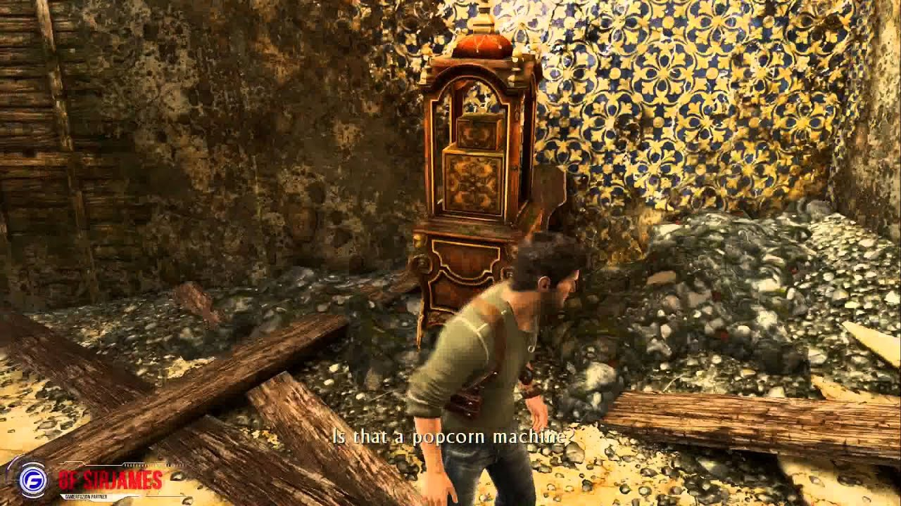 Uncharted 3 PS4 Walkthrough Part 6 Chapter 6 The Chateau ...