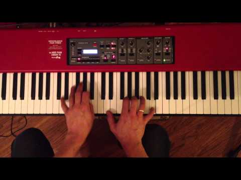 Piano Session Sync - Counting Crows - Perfect Blue Buildings