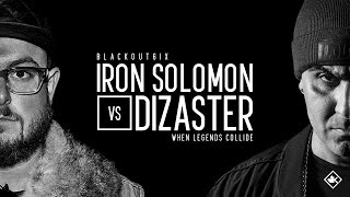 Gambar cover KOTD - Rap Battle - Iron Solomon vs Dizaster | #BO6ix