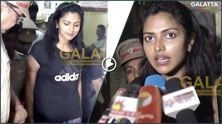 Shocking: Amala Paul sexually harassed by stranger at dance practice! Files FIR