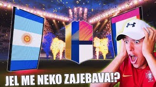 JEL ME NEKO ZAJEBAVAAAA!? FIFA 18 PACK OPENING!!