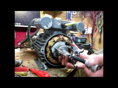 How To Remove Amp Replace Bearings In A Electric Motor