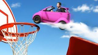 TINY Car Basket Ball Challenge! | GTA5