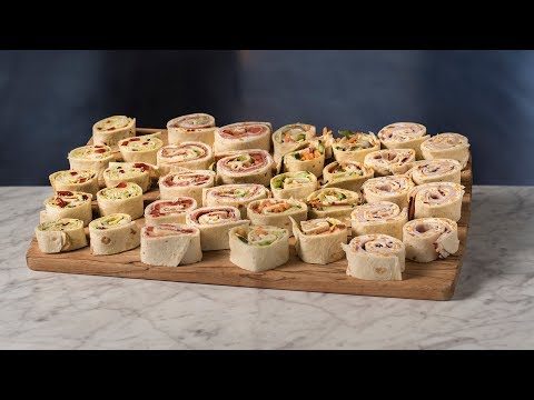 Sandwich Pinwheels - 4 Ways