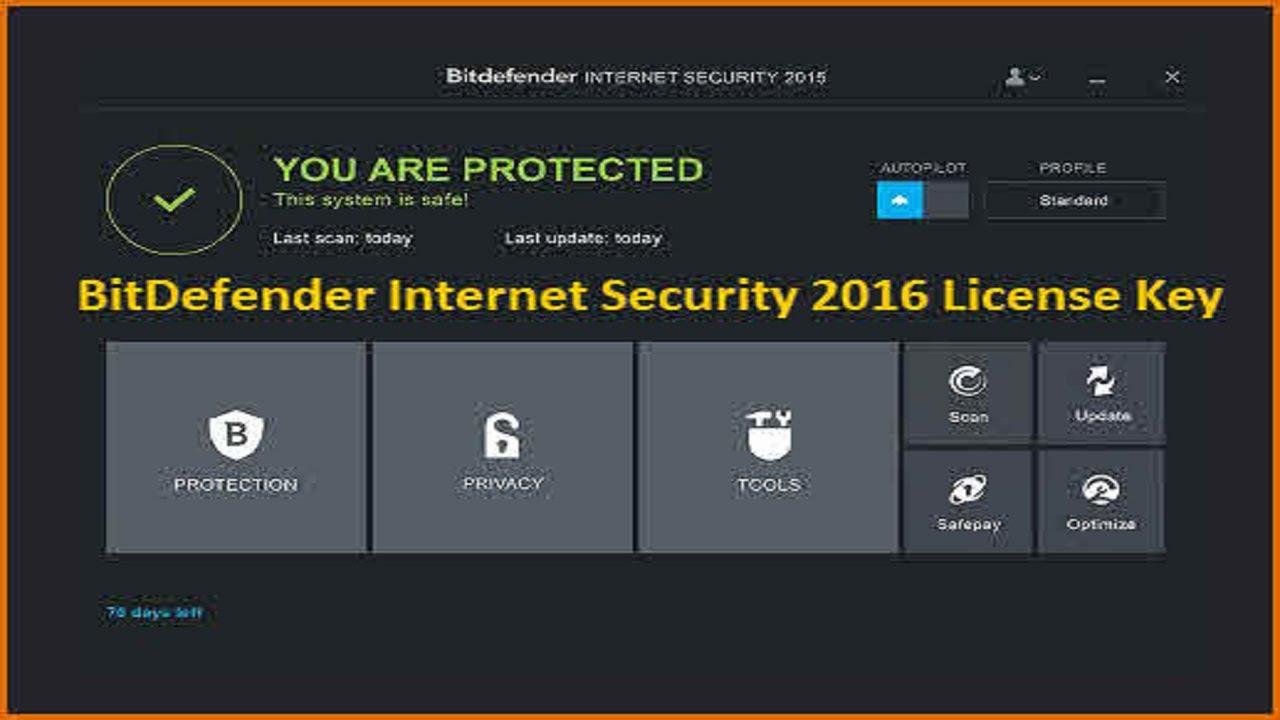 free license bitdefender internet security 2016 youtube. Black Bedroom Furniture Sets. Home Design Ideas