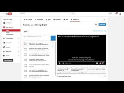 How To Edit YouTube Auto-Generated Closed Captioning