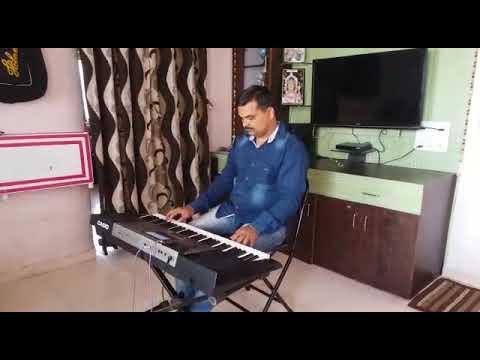 मराठी लावणी... Lavani song  Dholkichya taalavar on keyboard ढोलकीच्या तालावर