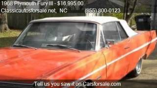 1968 Plymouth Fury III Commando for sale in Nationwide, NC 2 #VNclassics