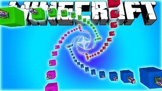 - СПИРАЛЬНЫЙ СПУСК Minecraft The Luckiest Block