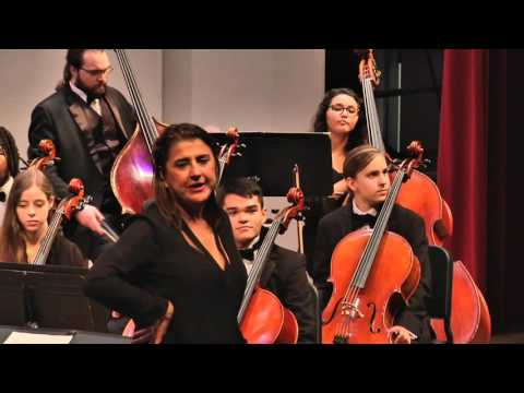 Nadja Salerno-Sonnenberg with the Loyola Chamber Orchestra 11/7/2015