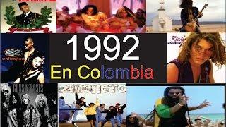 Top 100 mejores canciones de  1992 en Colombia Parte 1