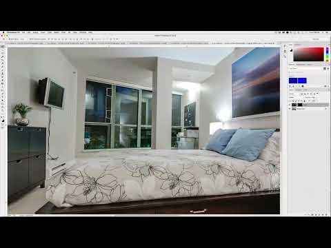 Photoshop - Blending Technique for Interiors Photography - Short View