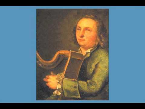 40 O'Carolan Tunes harp music book by Sylvia Woods