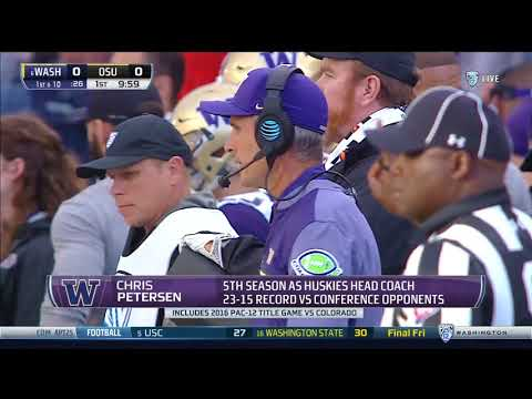 2017 #6 Washington at Oregon State