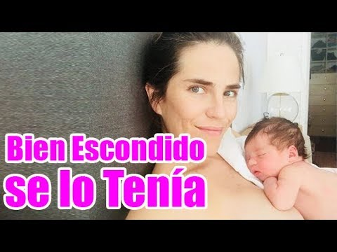 Tras Embarazo Secreto Karla Souza Presenta a su Bebé