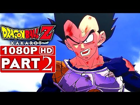 DRAGON BALL Z KAKAROT Gameplay Walkthrough Part 2 [1080p HD 60FPS PS4] - No Commentary