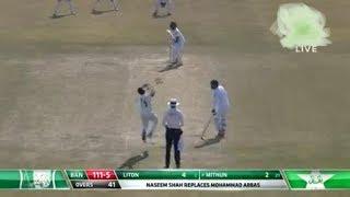 PTV Sports Live Pakistan Vs Bangladesh Live Cricket Match 1st test match