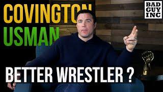 Who's the better wrestler...Colby Covington or Kamaru Usman? thumbnail