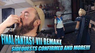 Final Fantasy VII Remake | SIDEQUESTS CONFIRMED!!!