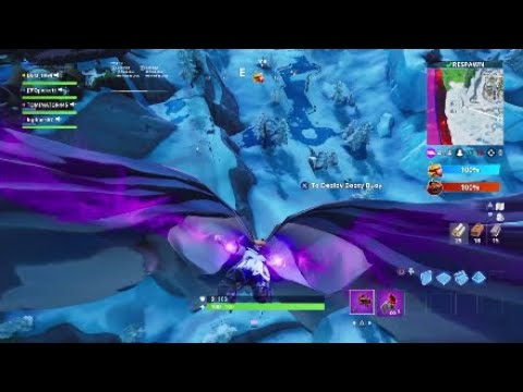 Fortnite food fight glitch wings