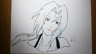 Speed Drawing Senju Tsunade - #5 INKTOBER 2016