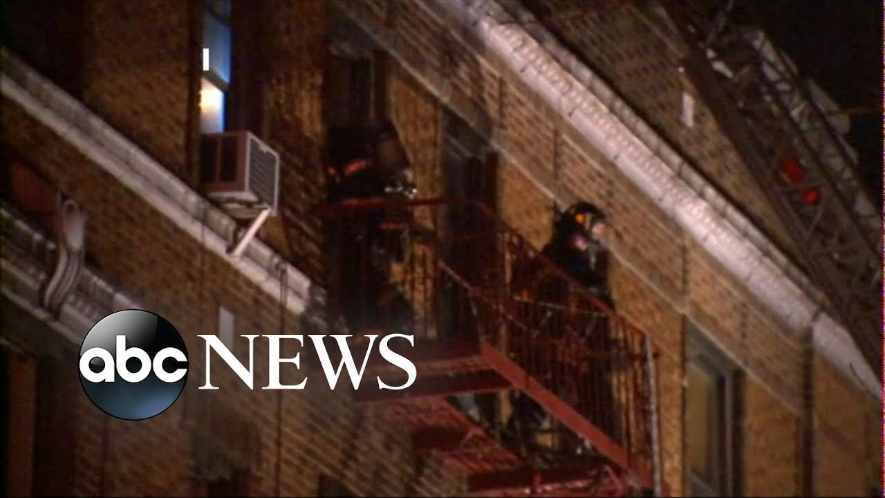 Deadly apartment fire in the Bronx kills at least 12