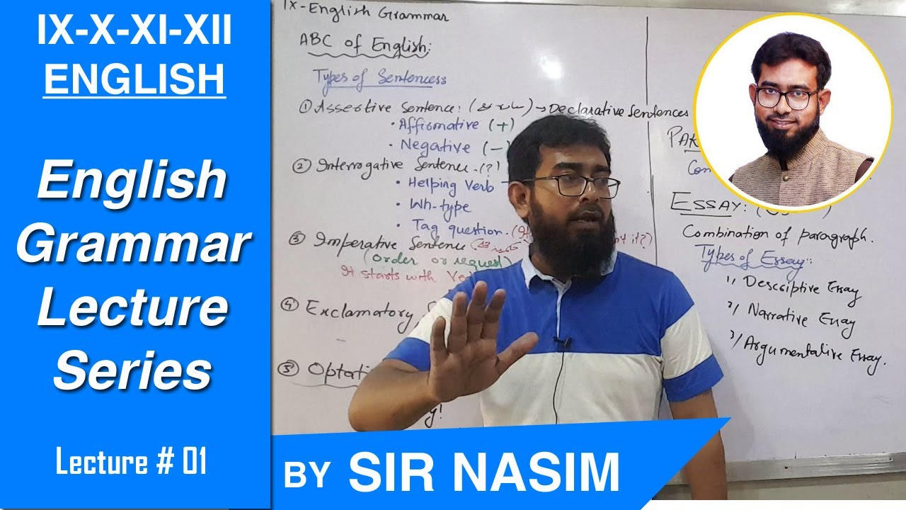 English Grammar - Basic Concepts (Lecture#1)