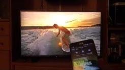 Panasonic Viera 40CXW704 Firefox OS TV Test [4K UHD]