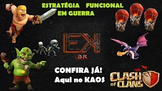 Clash of Clans KAOS Estratégia