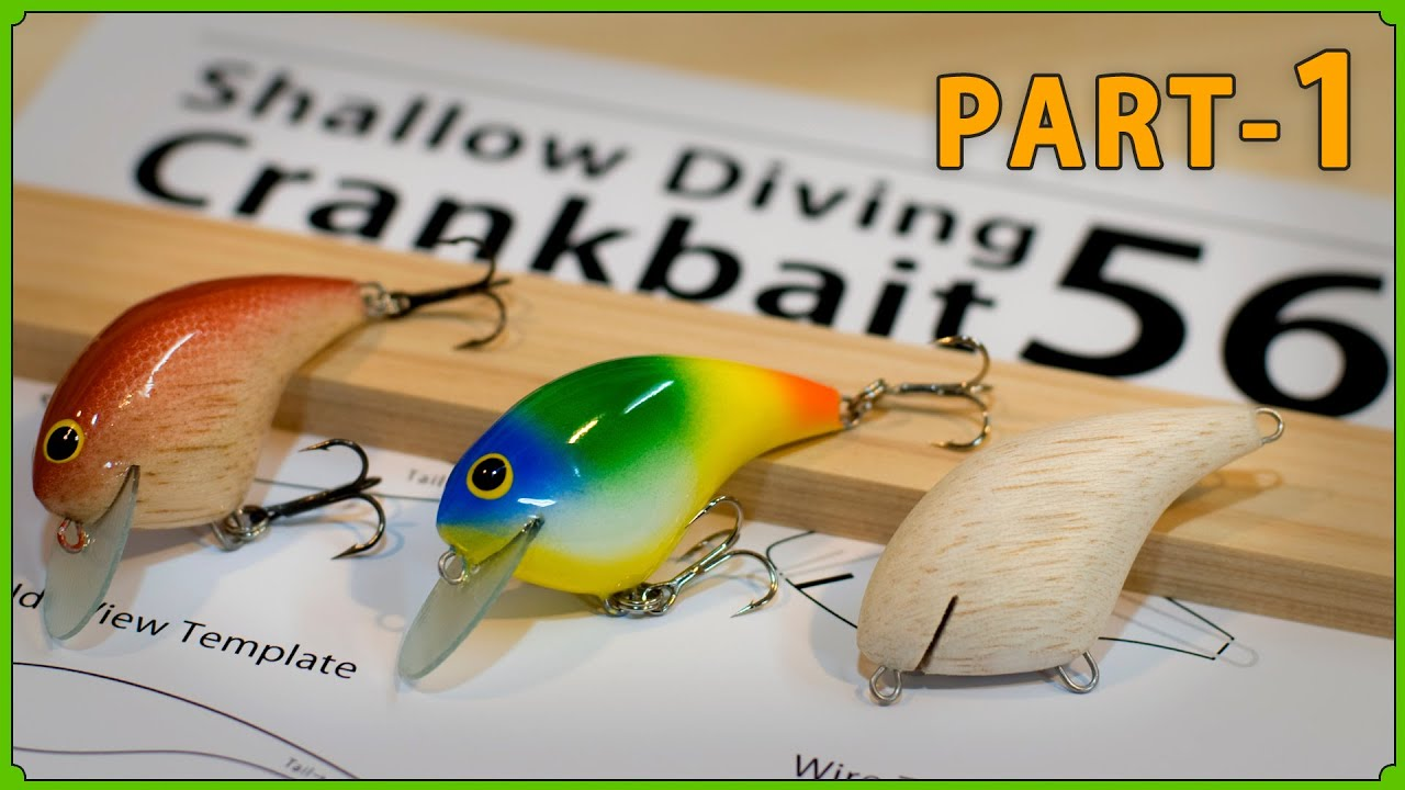 (PART-1): Making a Rattle crankbaits with balsa wood. バルサシートで自作するラトル入りクランクベイト。