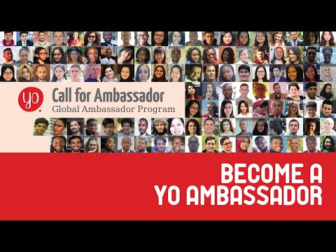 Become a Global Ambassador of Youth Opportunities for 2019-20 📣📣