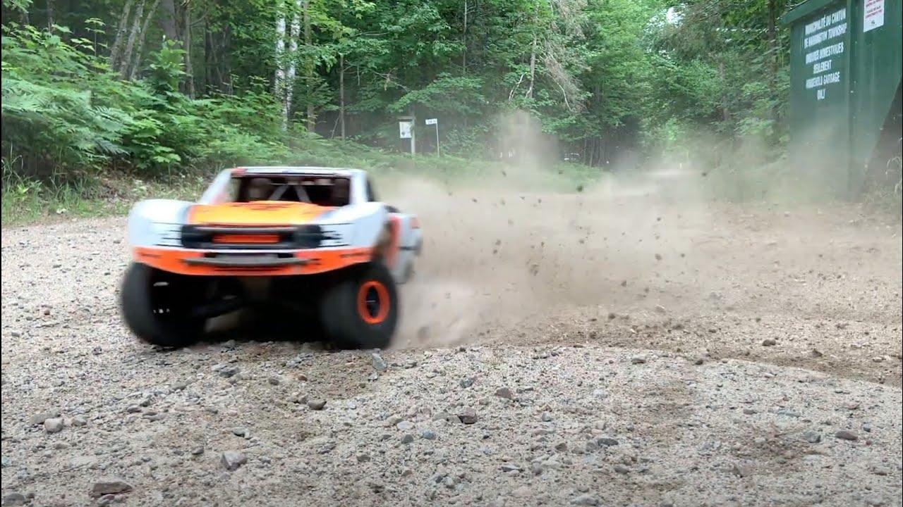 TRAXXAS UDR 6S Dirt Road Rippin! RC SPEED BASHING - Netcruzer RC