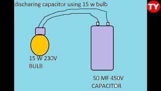 capacitors safe discharging methods
