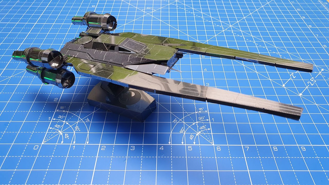 Star Wars Rogue one-metal Earth-u-Wing fighter