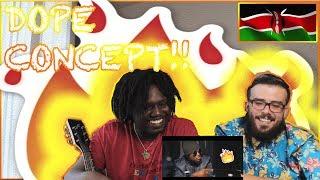 THE KHALI CARTEL BY KHALIGRAPH JONES    Americans React To African Music *KENYA*