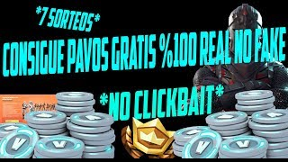 WIE KOSTENLOS PAVOS %100 LEGAL REAL NO FAKE *NO CLICKBAIT* - FORTNITE