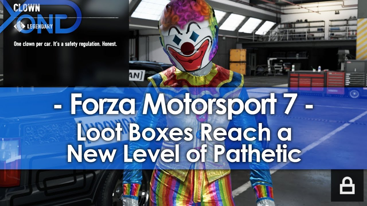 Forza Motorsport 7 Loot Boxes Reach A New Level Of Pathetic