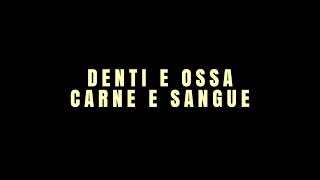 """Denti e ossa, carne e sangue"" book trailer"