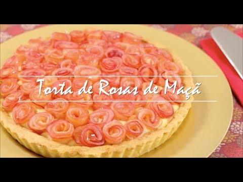 União - Torta de Rosas de Maçã