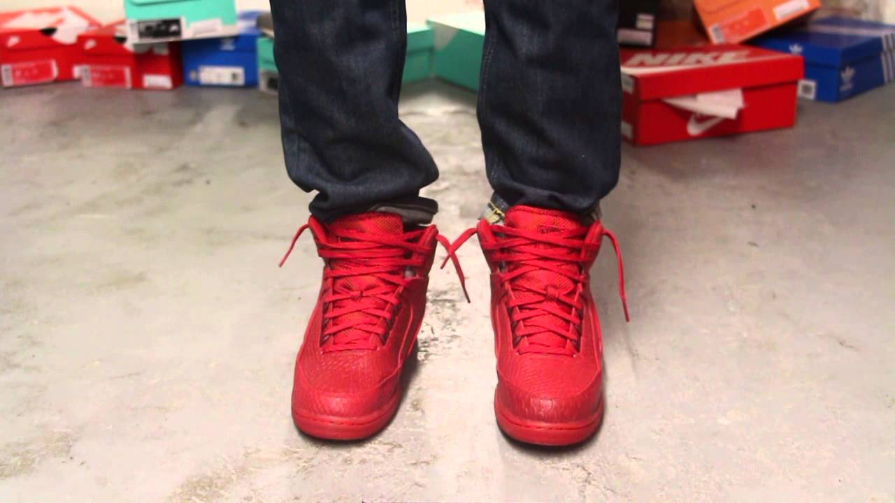 0a4d567f5c ... best price nike air python premium gym red on feet video at exclucity  youtube 2722e b7fdf