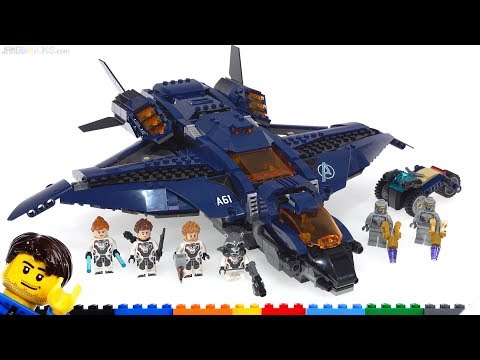 LEGO Avengers Ultimate Quinjet review 76126 Endgame