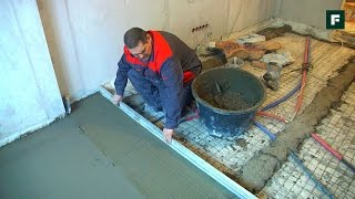 видео Устройство бетономешалки и ее разновидности