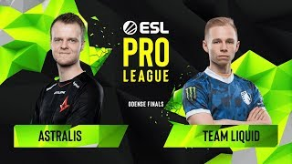 CS:GO - Team Liquid vs. Astralis [Dust2] Map 3 - Group B - ESL Pro League Season 10 Finals
