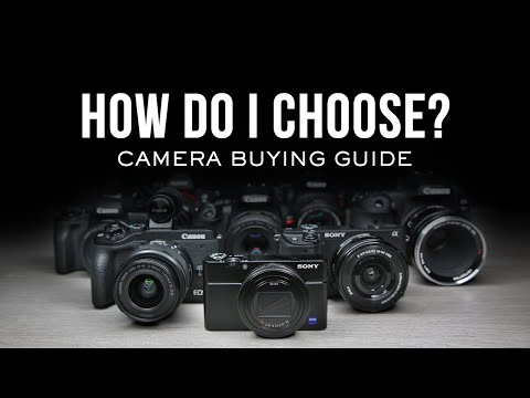 What Should I Choose? Camera Buying Guide
