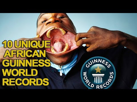 Top 10 Guinness Book of World Records Held in Africa